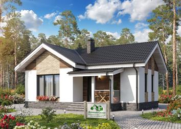 Дома из газобетона под ключ: проекты и цены на